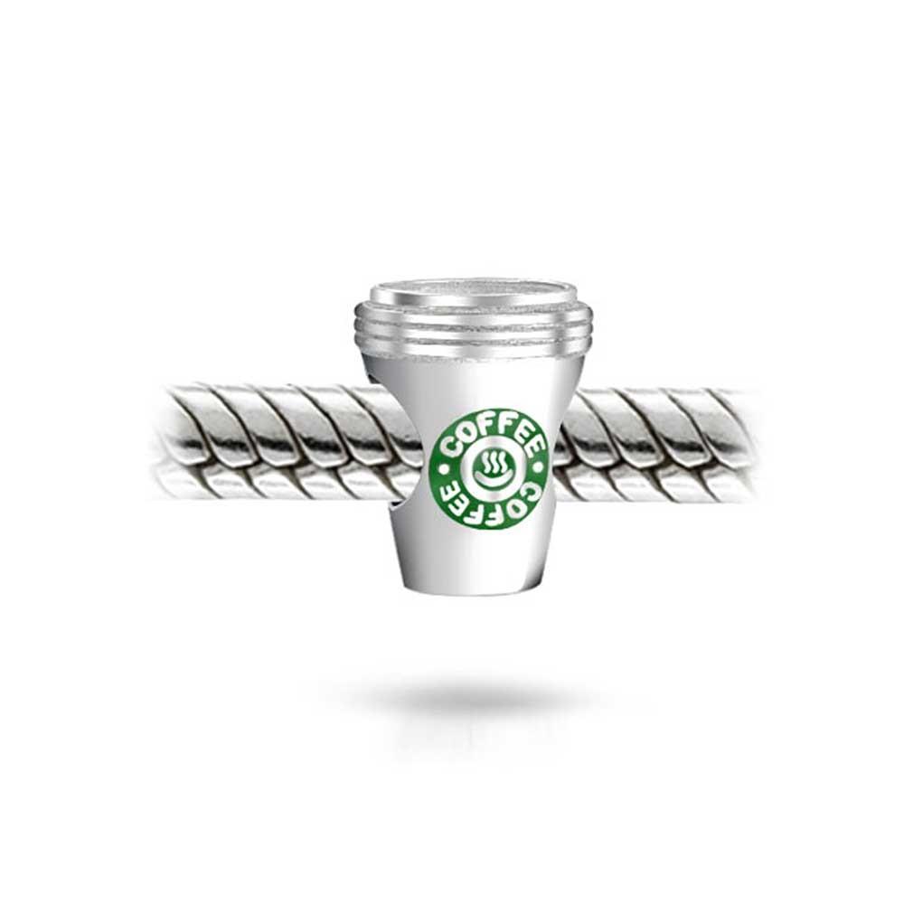 BERLOQUE - COPO de CAFÉ em PRATA 925 E ESMALTE
