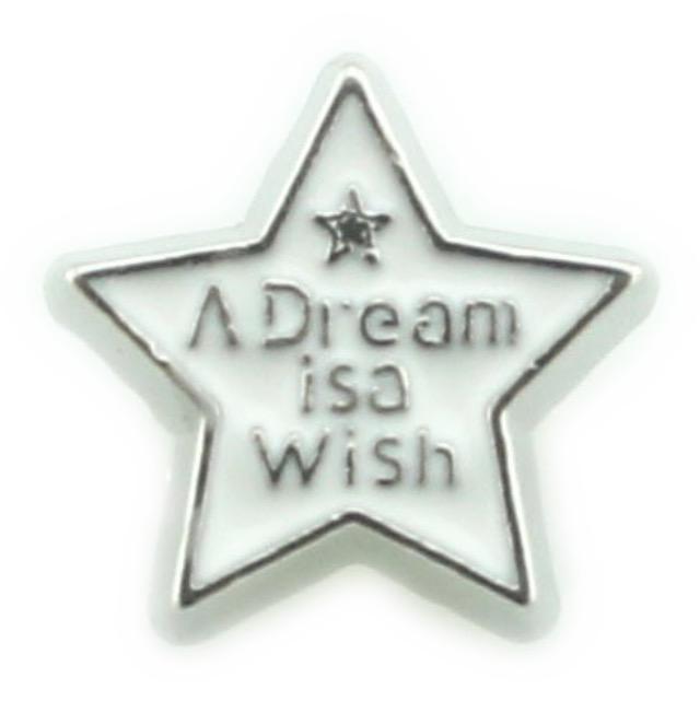 CHARME PARA CÁPSULA, ESTRELA ''Um sonho é um desejo''.