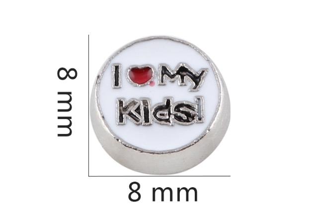 CHARME PARA CÁPSULA , EU AMO MEUS FILHOS/ I LOVE MY KIDS