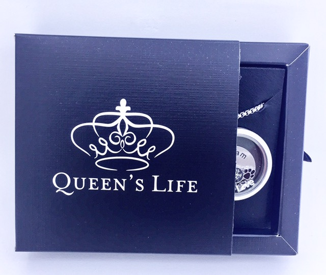 Conjunto DREAM / SONHO, Cápsula 35 mm, Mini Charmes, Corrente e Caixa de Presente