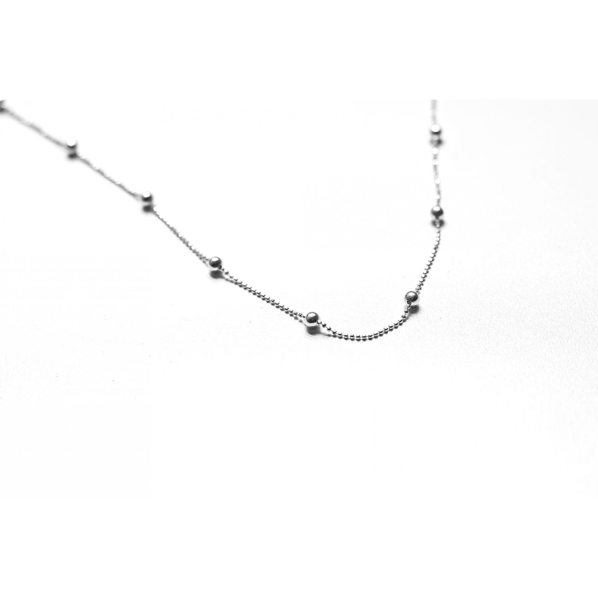 CORRENTE BOLINHA - 50 cm