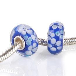 MURANO HGS-373-BLUE, PRATA 925