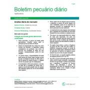 Boletim Pecuário Diário - 2 dias - Via Email