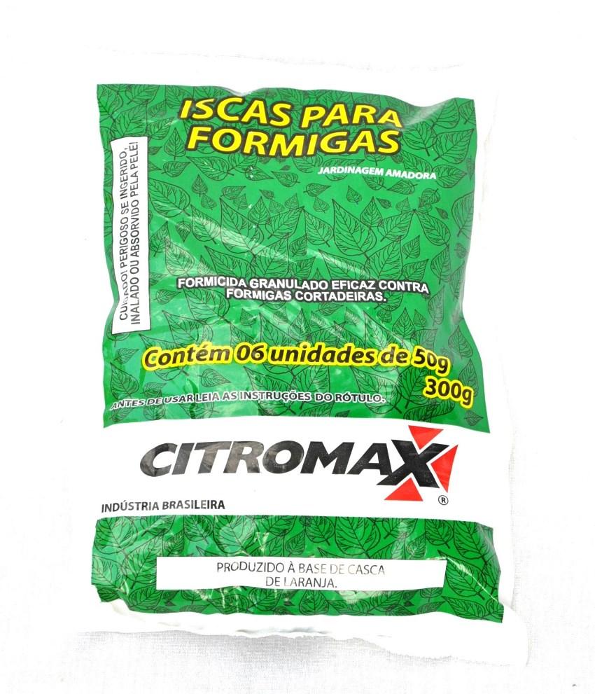 Isca para formigas  300g Citromax - Formicida granulado eficaz contra formigas cortadeiras