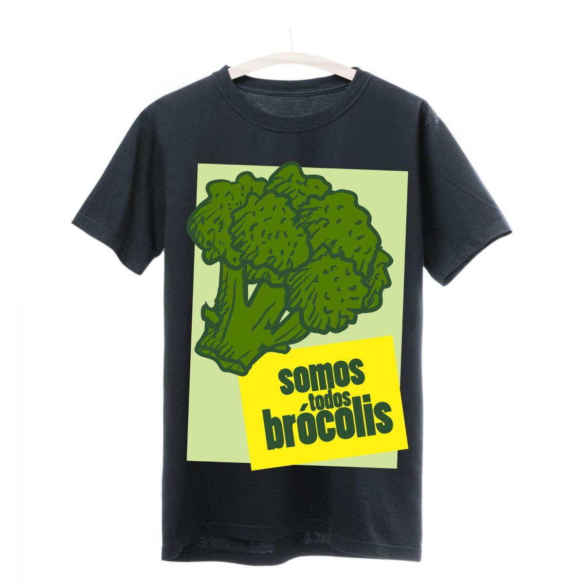 Camiseta Seminate Brócolis