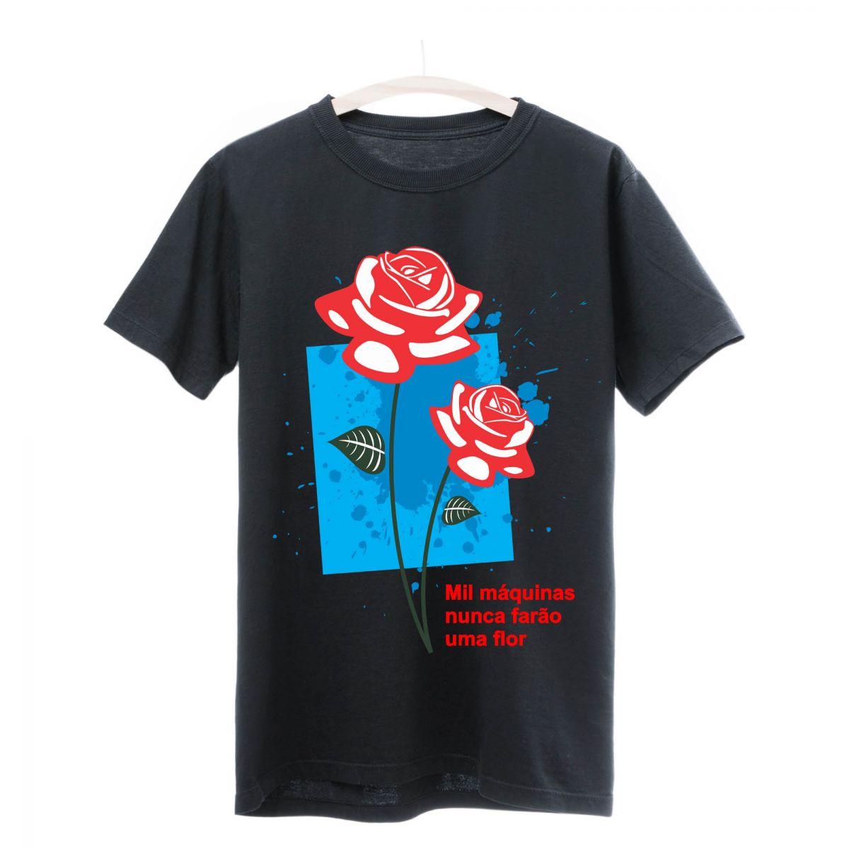Camiseta Seminate Flor