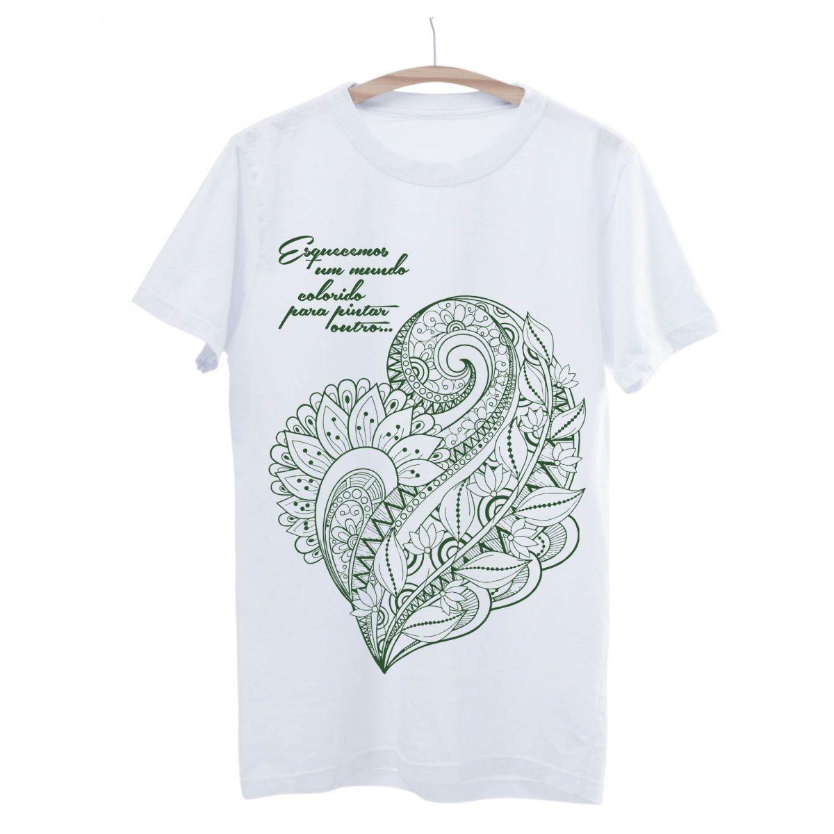 Camiseta Seminate Mundo Colorido