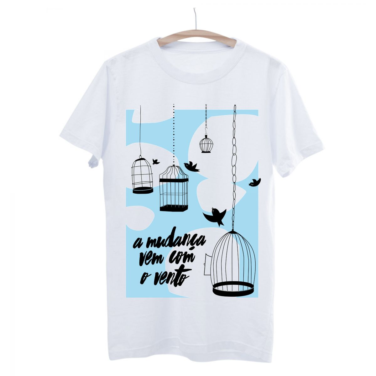 Camiseta Seminate O Vento