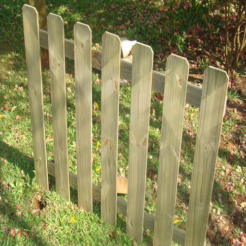 Cerca Dog de madeira tratada 90x150cm (01 unidade)