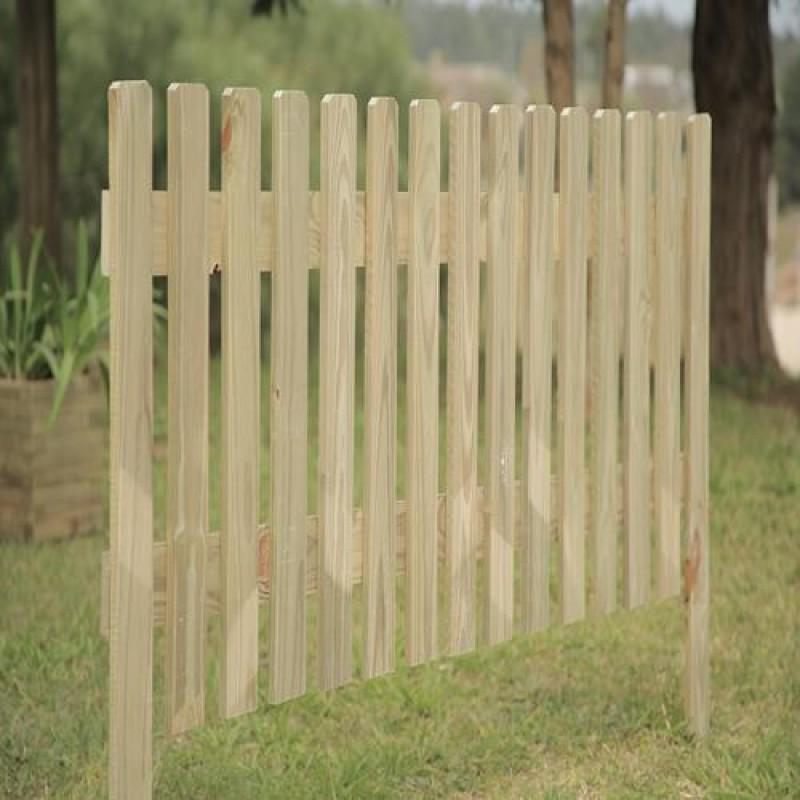 Cerca fixa de madeira tratada 60x180cm (01 unidade)