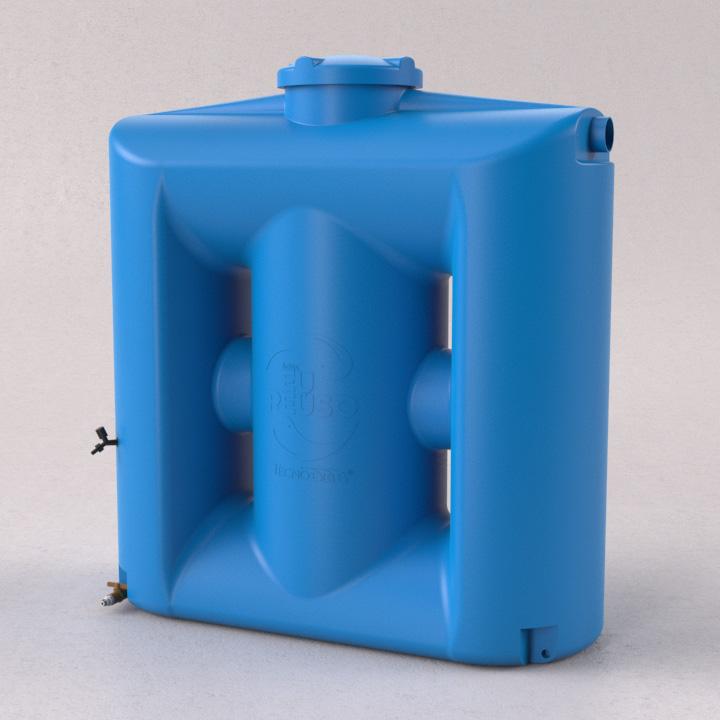 Cisterna Vertical Modular 1000 litros sem filtro - Tecnotri