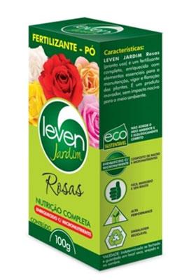 Fertilizante em p� Leven Jardim Rosas 100g