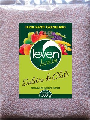 Fertilizante Granulado Leven Jardim Salitre do Chile 500g
