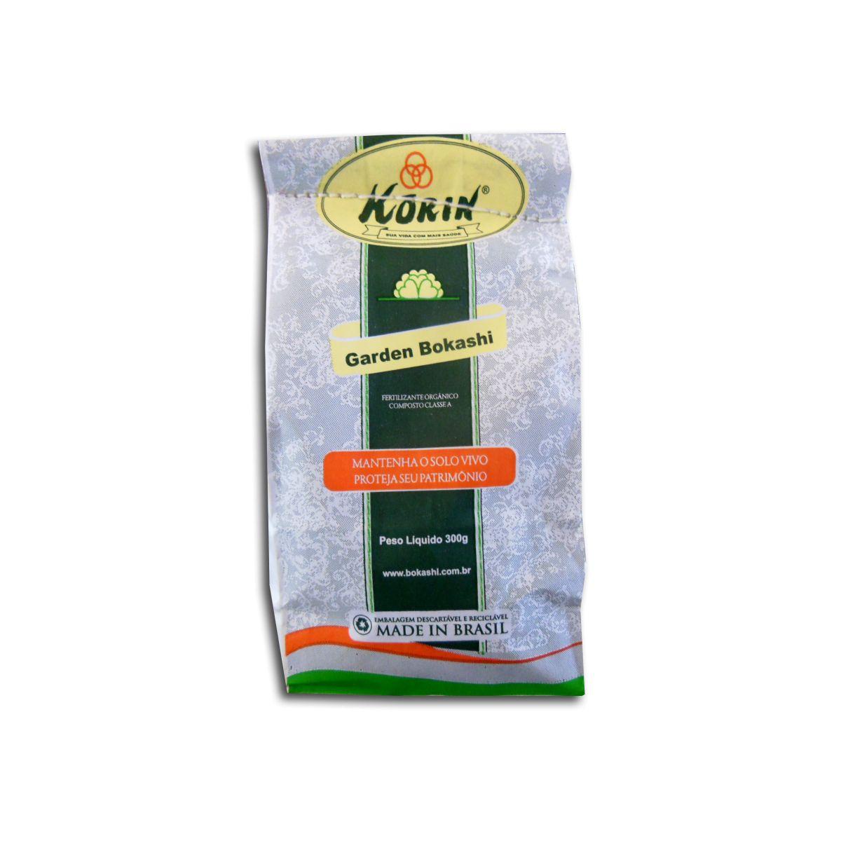 Fertilizante Orgânico Composto Classe A Garden Bokashi 300g - Korin