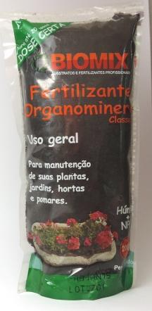 Fertilizante Organomineral Classe A 200g - Biomix