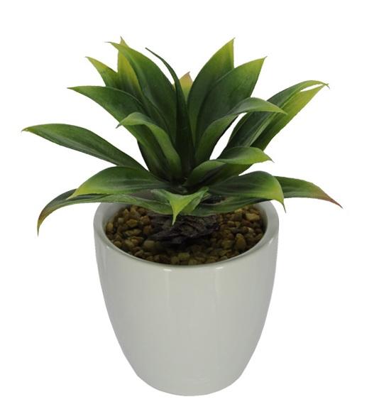 Folhagem Suculenta artificial 16 cm - Verde
