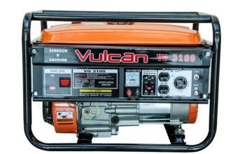 Gerador El�trico a Gasolina Vulcan VG 3100 - 6.5 HP