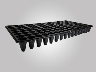 Kit com 10 Bandejas para mudas - 128 c�lulas - espessura 0,45mm