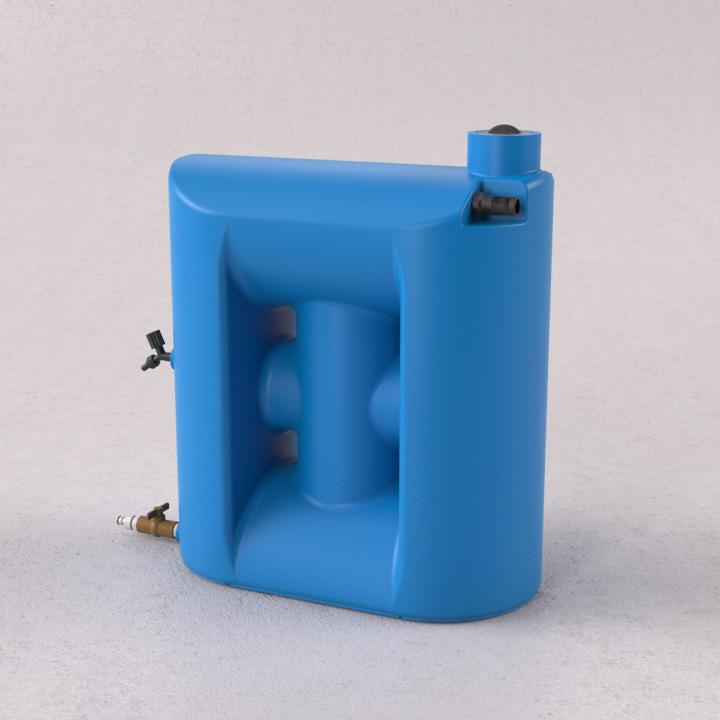 Kit Re�so de �gua 150 litros com clorador - Tecnotri