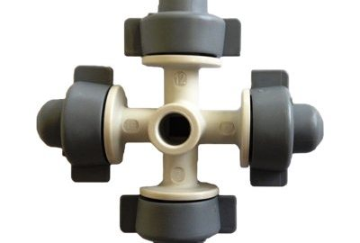 Nebulizador Coolnet 4 saídas 7,5 L/H - Kit com 3 pçs