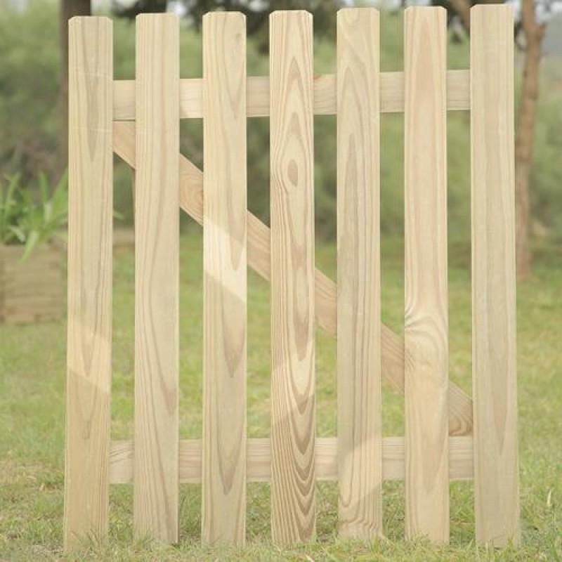Port�o Fixo de madeira tratada 100x80cm (01 unidade)