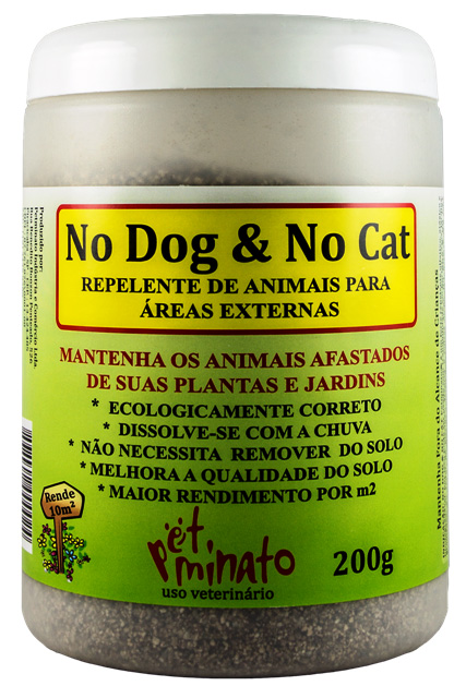 Repelente de Animais para áreas externas No Dog & No Cat 200g (adestrador)