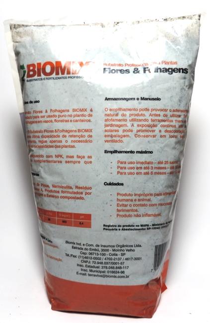Substrato Profissional para Plantas, Flores & Folhagens 2kg - Biomix
