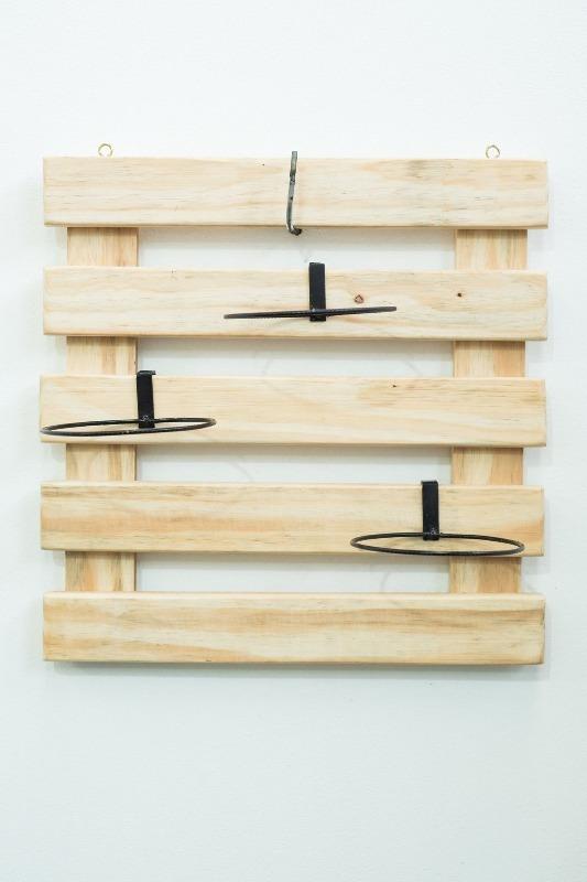 Treli�a de madeira Raiz 50cm x 50cm