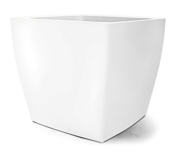 Vaso Classic Quadrado 50  Branco - 50,0 altura x 55,5 largura