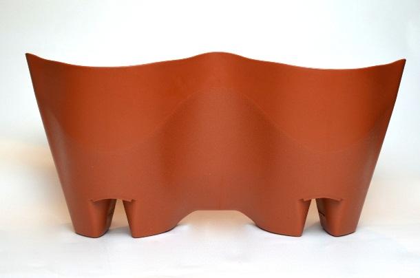 Vaso de parede modular