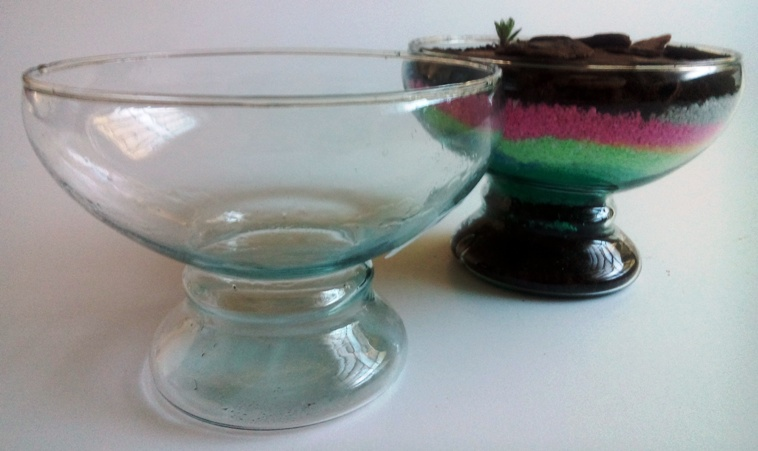 Vaso de vidro 03 para terrário - RIVIERA