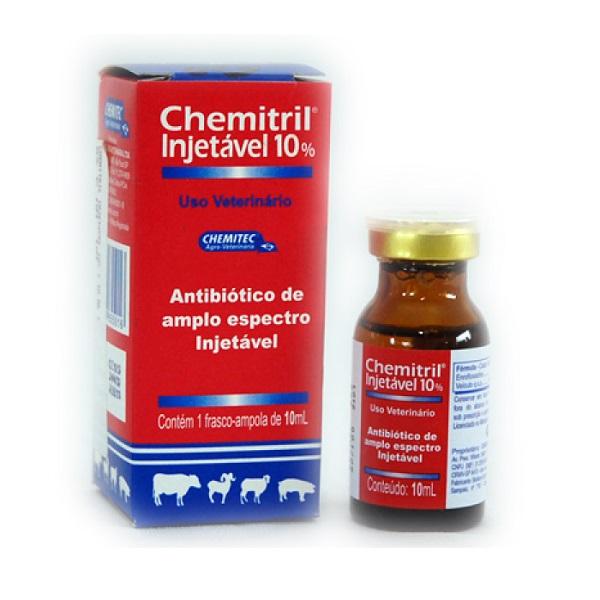 Chemitril 10% Inj. 50ml  - Farmácia do Cavalo