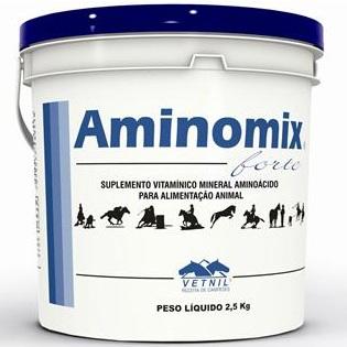 Aminomix Forte 2,5 Kg  - Farmácia do Cavalo