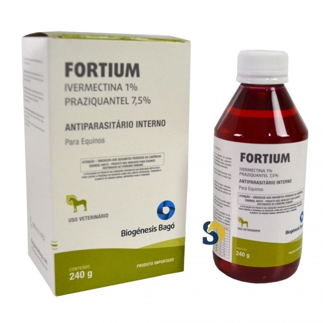 Fortium Gel Equinos 240 g  - Farmácia do Cavalo