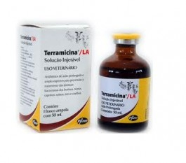 Terramicina LA 50ml  - Farmácia do Cavalo