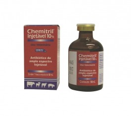 Chemitril 10% 50 ml  - Farmácia do Cavalo
