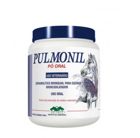 Pulmonil Pó Oral 500g  - Farmácia do Cavalo