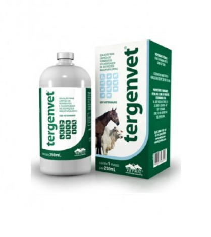 Tergenvet 250ml  - Farmácia do Cavalo