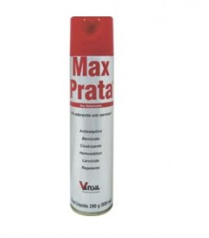 Max Prata 500ml  - Farmácia do Cavalo