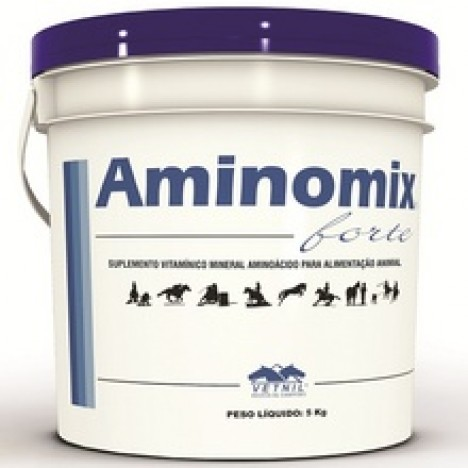 Aminomix Forte 5Kg  - Farmácia do Cavalo