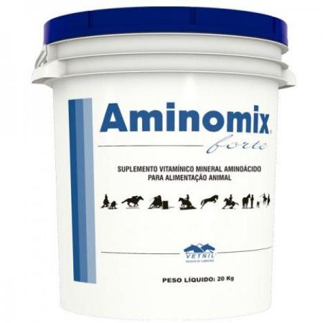 Aminomix Forte 20Kg  - Farmácia do Cavalo