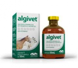 Algivet 50 ml  - Farmácia do Cavalo