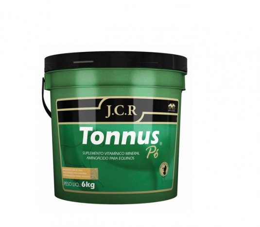 Tonnus Pó JCR 6Kg  - Farmácia do Cavalo