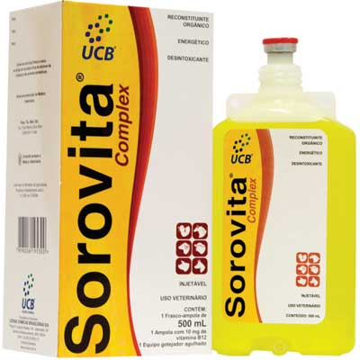 Sorovita Complex 500ml  - Farmácia do Cavalo
