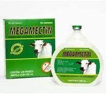 Megamectin 500ml  - Farmácia do Cavalo