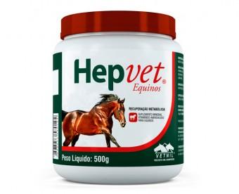 Hepvet Equinos 500gr  - Farmácia do Cavalo