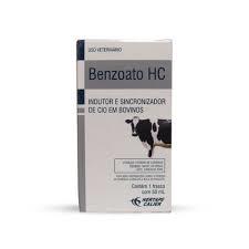 Benzoato HC 50ml  - Farmácia do Cavalo