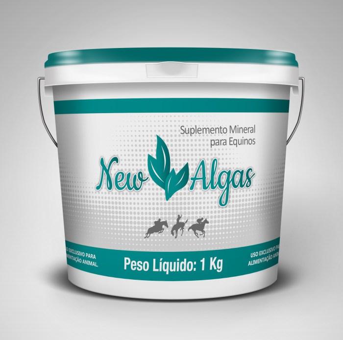 NewAlgas 4Kg  - Farmácia do Cavalo