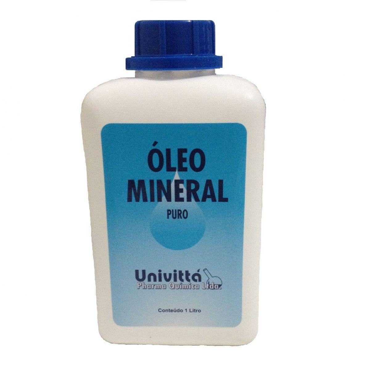 Óleo Mineral 1L USP  - Farmácia do Cavalo
