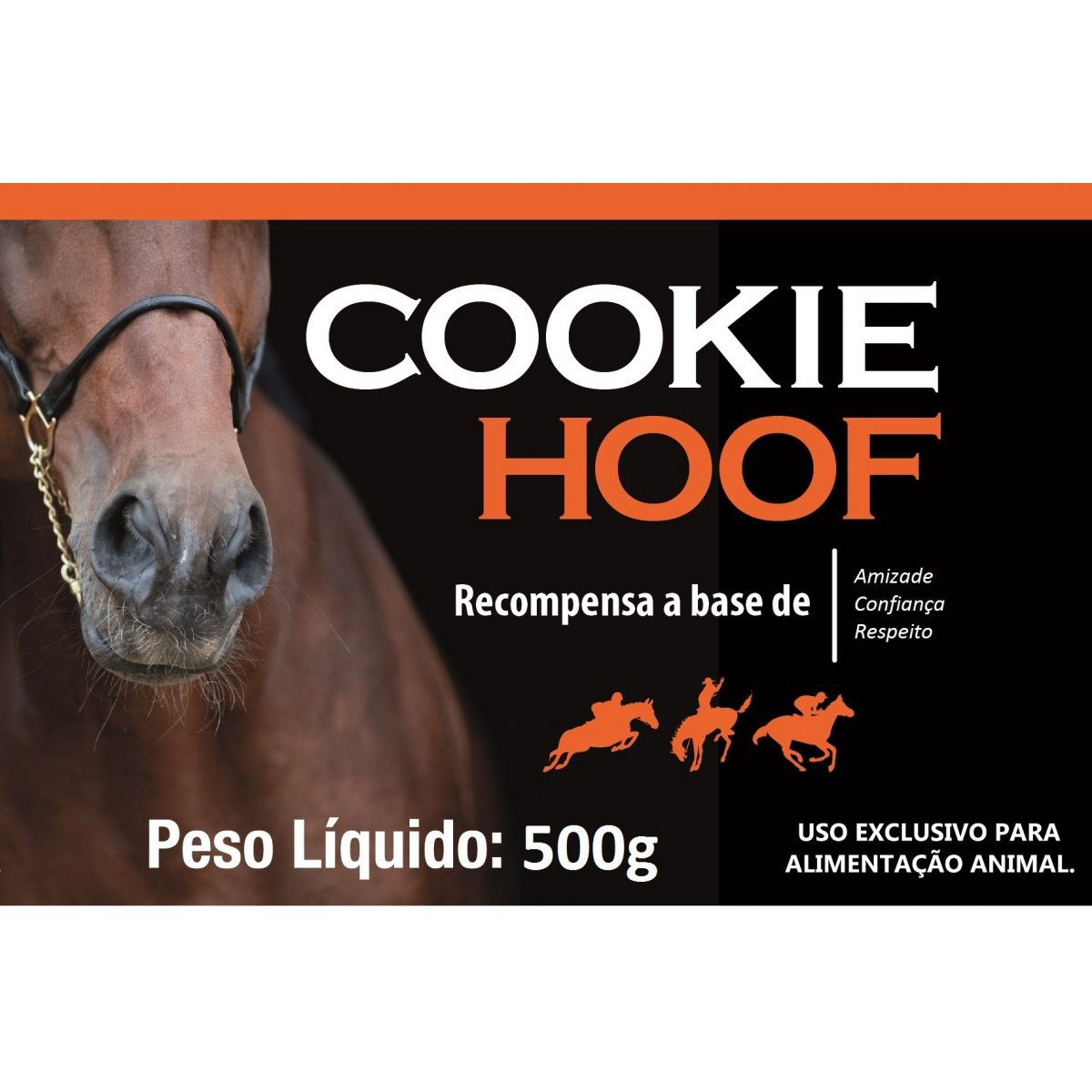 COOKIE HOOF 500g  - Farmácia do Cavalo
